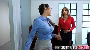 الجنس على المكتب مع امرأة مثيرة تقبل أي شيء يجعلها سعيدة