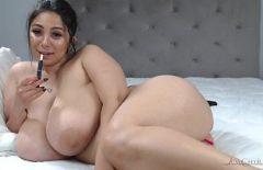 امرأة رومانية ضخمة الثدي تجعل الحب مقابل 500 ليو