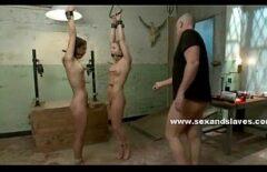 ممارسة الجنس مع العبيد الذين مارس الجنس بوحشية من قبل مجنون